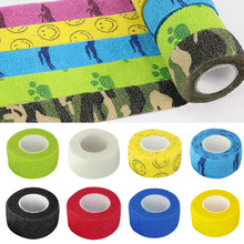 1PC Tattoo Accesories Grip Wrap Roll Elastic Bandage Handle Tube Disposable Nonwoven Self Adherent tattoo supplies