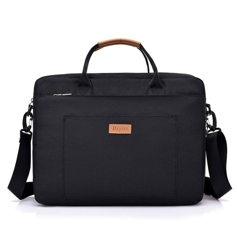 Briefcase Laptop Case Document Information Bag Portable Slung Men Women Business High Capacity Large Capacity Handbag Customized
