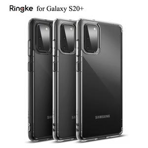 Image 1 - Ringke Fusion for Galaxy S20 Plus 실리콘 케이스 유연한 Tpu 및 투명 하드 PC 뒷면 커버 Hybrid for Galaxy S20 +