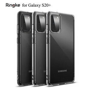 Image 1 - Ringke フュージョンギャラクシー S20 プラスシリコーンケース柔軟な tpu と透明ハード pc バックカバーハイブリッド銀河 S20 +