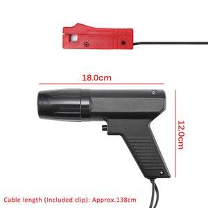 Image 5 - Pistola de sincronización de encendido profesional, lámpara estroboscópica inductiva para motor de coche, herramientas manuales de motocicleta, probador de reparación