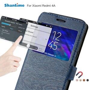 Pu Leather Phone Bag Case For Xiaomi Redmi 4A Flip Case For Xiaomi Redmi 3 View Window Book Case Soft Tpu Silicone Back Cover