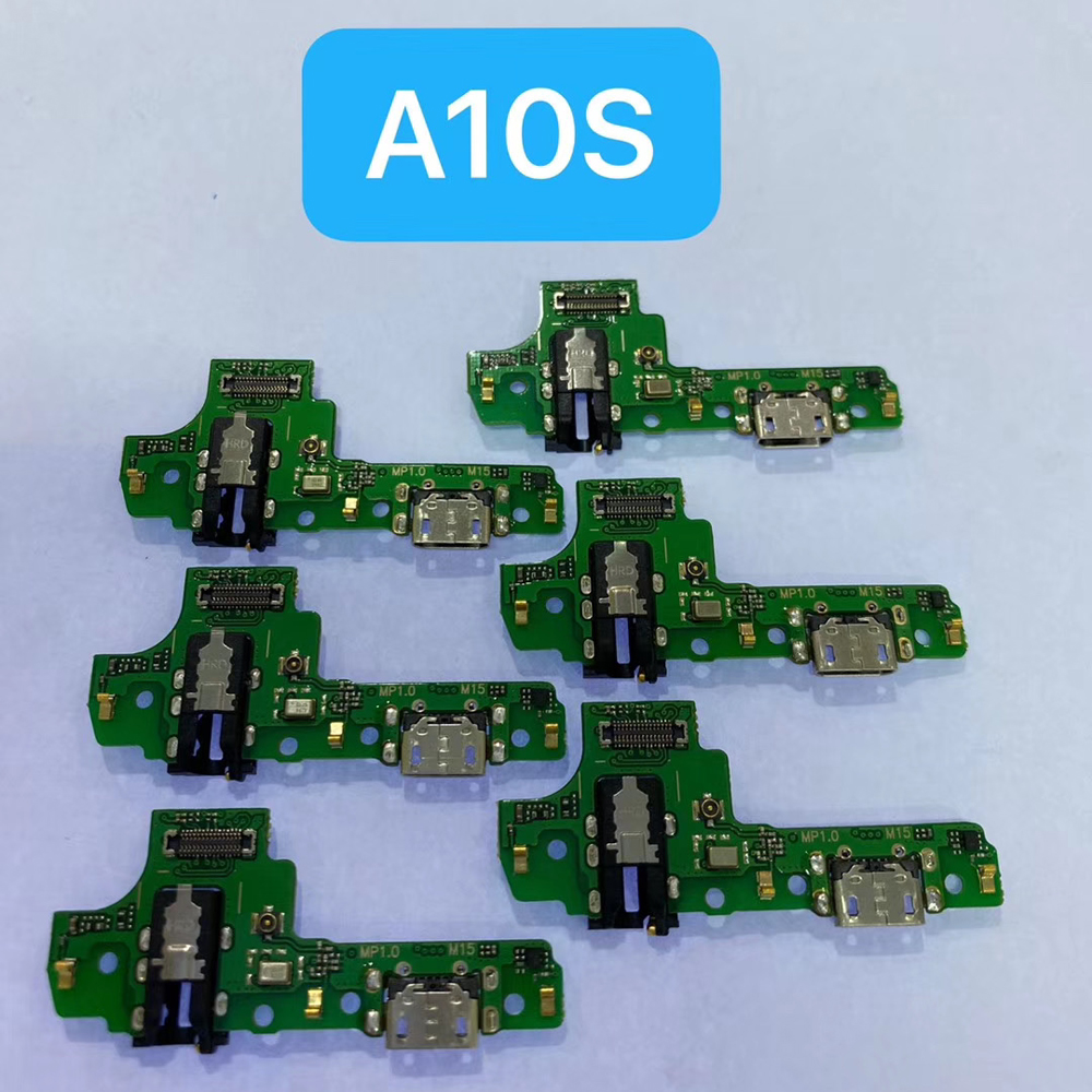 For Samsung A10S A20S A30S USB Charging Port Board Microphone Mic A107F A207F A307F A50S A507F Phone Charger Dock Flex Cable