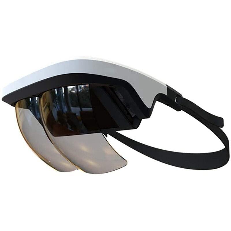 Casque AR gle 3D, casque vidéo de réalité augmentée, pour iPhone et Android, vidéos et jeux 3D