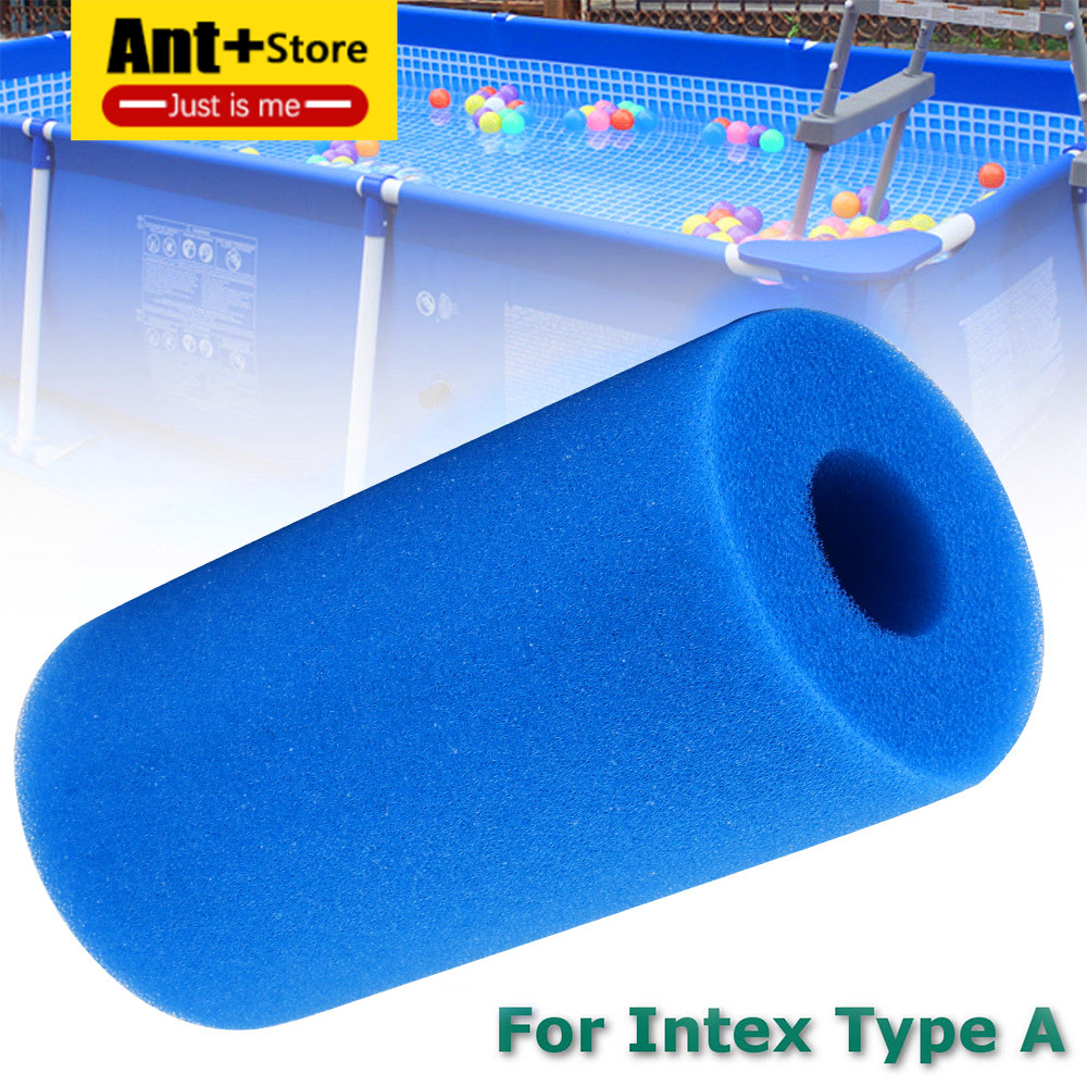 Swimming Pool Foam Filter Sponge Intex Type A Reusable Washable Biofoam Cleaner Swimming Pool Accessories Pool Noodle