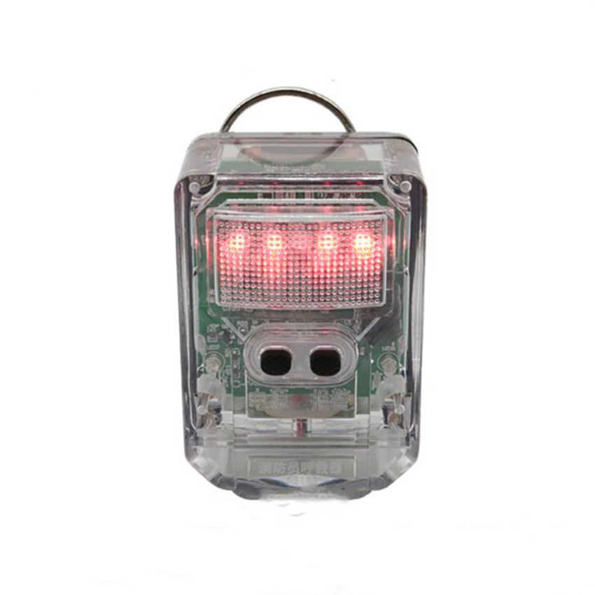 Waterproof Sound And Light Alarm 2 In 1 Explosion-proof Emergency Safety Flashing Light Outdoor Alarms Pager For Firemen Rescue
