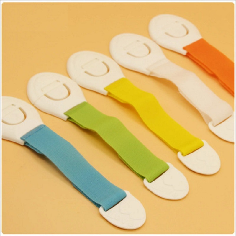 Children Safety  Protection Plastic Lock Child Cabinet Locking Of Children Locking From Doors Drawers Baby Safety Products