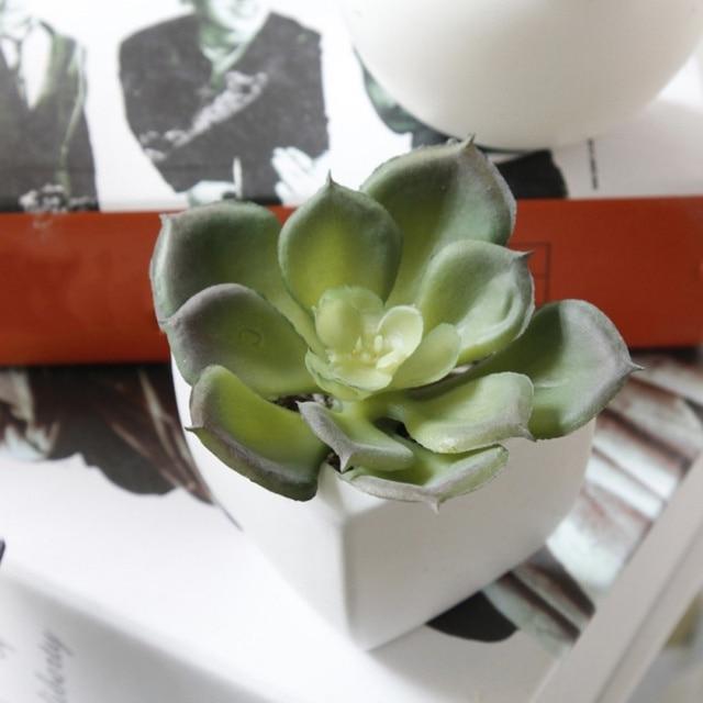 Fridge Magnets Potted Artificial Succulent Plants Bonsai Fake Flower Souvenir Blackboard Magnetic Stickers Home Wall Decor 4