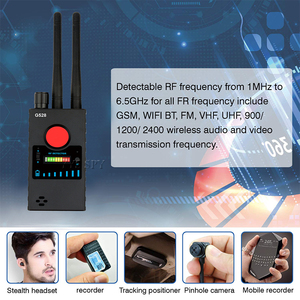 Image 4 - אנטנה כפולה G528 אנטי פספוסים מצלמה נסתרת גלאי RF אות סוד GPS אודיו GSM נייד טלפון Wifi חריר מצלמת מרגלים באג Finder