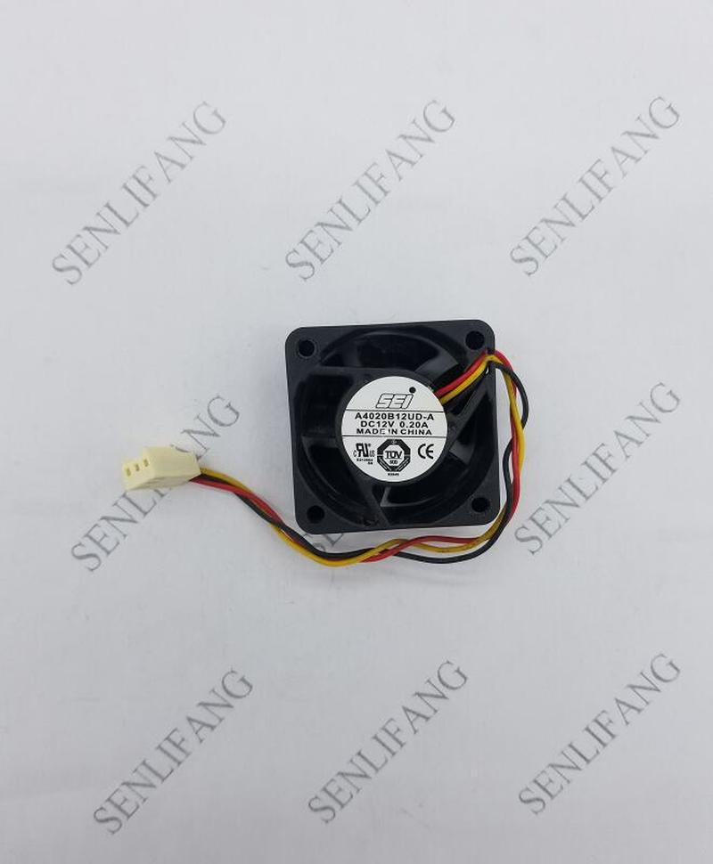 For Original SEI 4020 DC 12V 0.20A A4020B12UD-A Cooling Fan