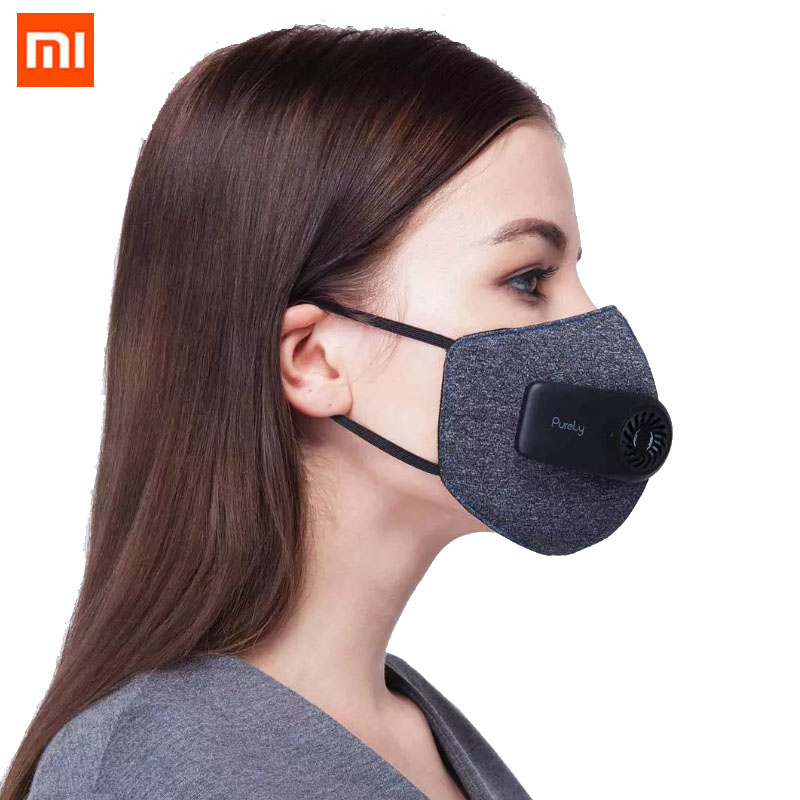2020 New Xiaomi Mi Purely Electric Air Face Cover Anti-Pollution Dust Haze Active Air Supply Protective Kuala Lump Leader Same