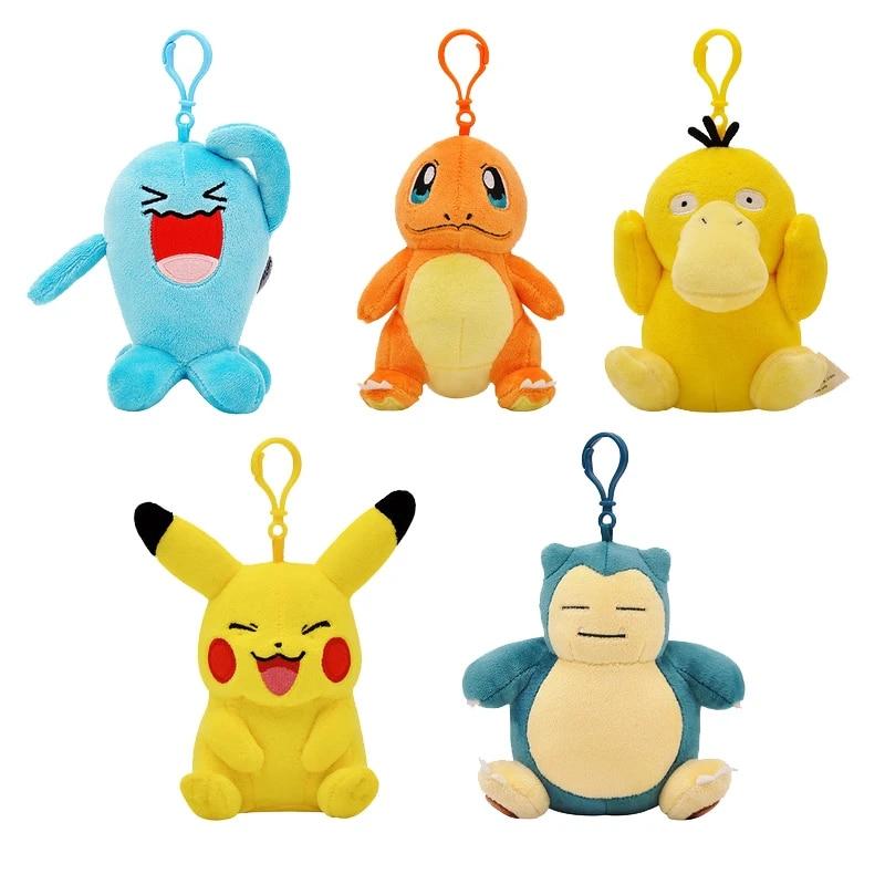 kawaii keychain lanyard keychain anime key fob wristlet keychain key finder pokemons keychain Pokemons key fob cartoon keychain