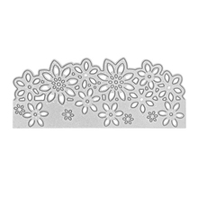 Making Scrapbook Greeting Card Decor Lace Hollow Flower Frame Metal Cutting Dies Stencil Embossing Template Dropshipping