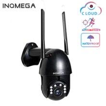 INQMEGA caméra de Surveillance dôme extérieure PTZ IP WiFi hd 1080P, dispositif de sécurité sans fil, étanche, avec suivi automatique