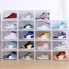 Shoe Box Display Collection Storage Transparent Sneakers Drawer Style Acrylic JA55