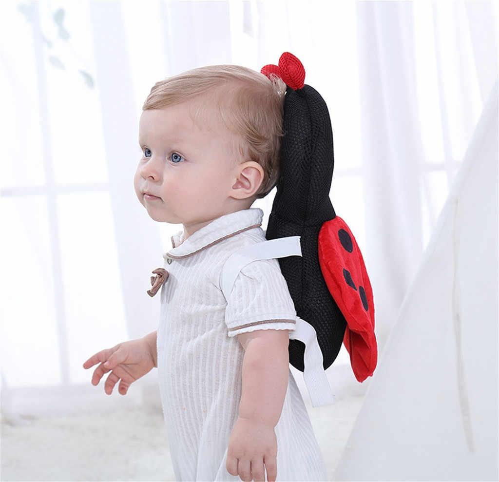 Besouros Forma bonito Proteja a Cabeça de Brinquedo Travesseiro Bonito Travesseiro Caminhar Estudo Para O Bebê Travesseiro Respirável