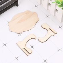 Chalk-Board Message-Stand Memo Wooden 10pcs Table-Sign Wedding-Party-Decoration-Supplies