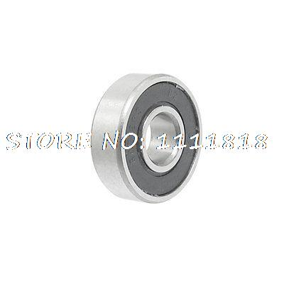 Rubber Sealed Single Row Deep Groove Ball Wheel Bearing 607-2RS
