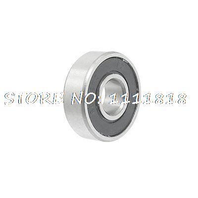 Rubber Sealed Single Row Deep Groove Ball Wheel Bearing 607-2RS