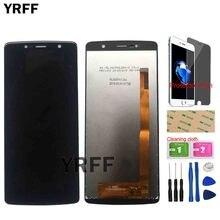 Pantalla LCD de teléfono para Leagoo Power 5, Sensor de pantalla táctil, accesorios de vidrio frontal, película protectora de herramientas