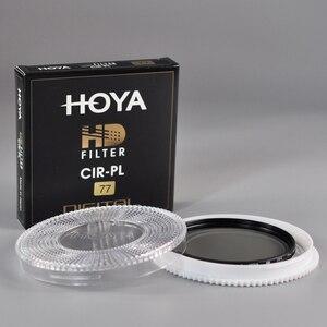 Image 2 - Filtro Japón Hoya HD CPL 58mm 67mm 72mm 77mm 82mm polarización Circular hoya HD CIRPL Slim polarizador para lente de cámara hecho en Japón