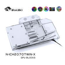 Water-Block Rtx 2060 Bykski Copper Inno3d RGB A-Rgb/4pin Twin-X2/full-Cover Use-For 12V