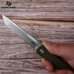 "Image 3 - 8.5"" FH11 60 61HRC Knives 5 Color D2 Blade G10  Handle Folding Knife Plus Pocket EDC Folding Knife Camping Utility Outdoor EDC"