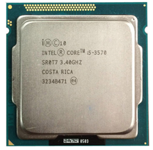 Processador intel core i5-3570 i5 3570 (6 m cache, 3.4 ghz) lga1155 pc 77 w computador desktop quad-core cpu(China)