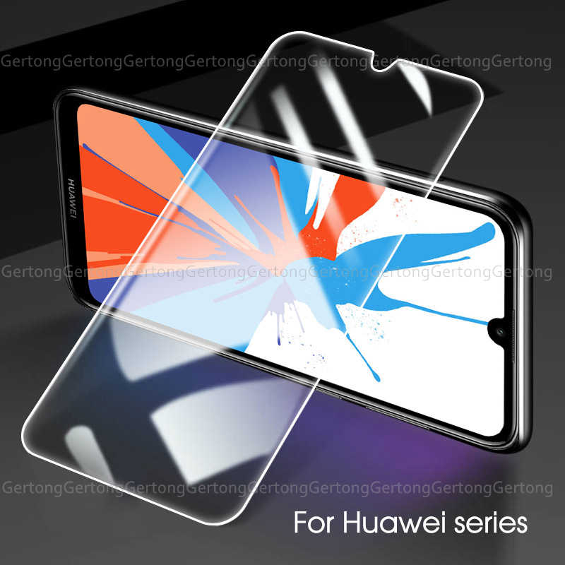 3Pcs 9H clear Tempered Glass For Huawei Honor Y6 Y7 Prime Y5 Y9 2018 Y6 Y7 Pro 2019 Protective Anti-Shock Screen Protectors