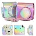 Для Fuji Fujifilm Instax Polaroid Mini 8 8 + 9 Symphony camera сумка яркая Порошковая цветная Защитная крышка ретро кожаный чехол для камеры