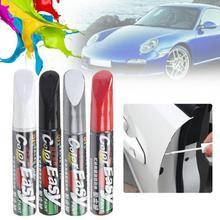 Автомобильная краска для ремонта царапин, водостойкая ручка-маркер для краски, уход за протектором автомобильных шин, уход за автомобилем, черный, белый, красный, серебристый