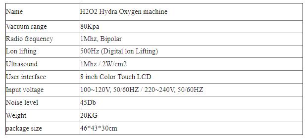 Transporte rápido 6 em 1 H2O2 Hidra