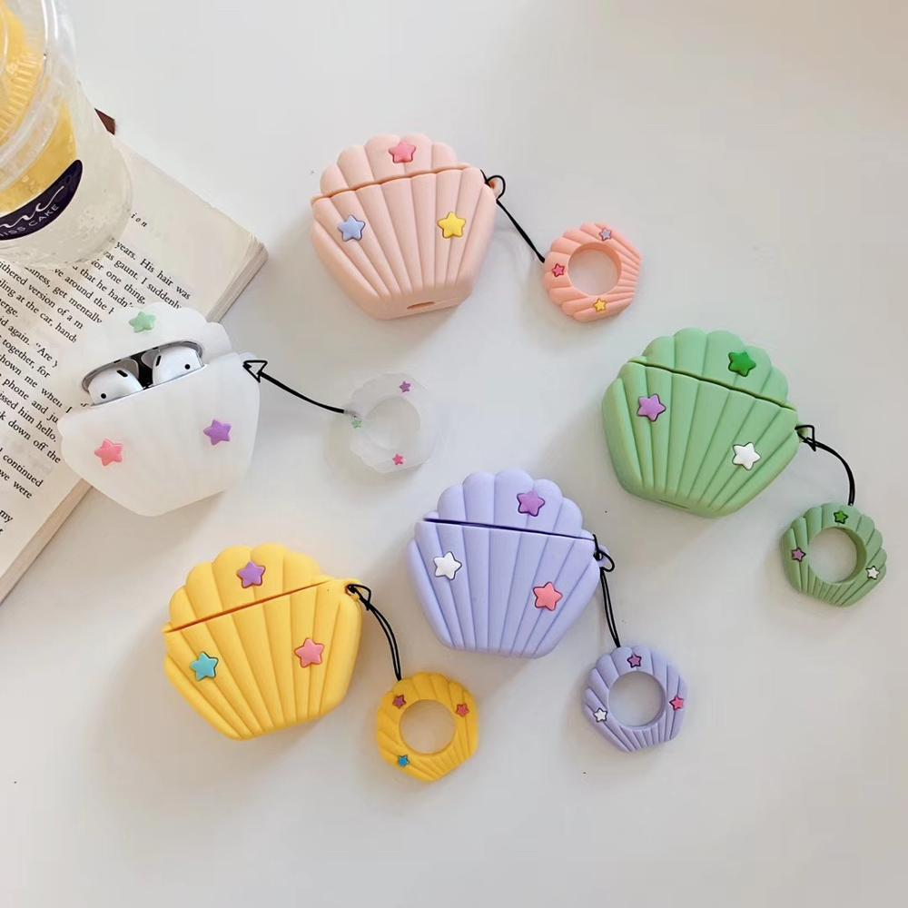 for AirPods case High Quality Silicon Cute Cartoon Soft Bluetooth Wireless Earphone Cases for Apple AirPods 1/2  Charging Box