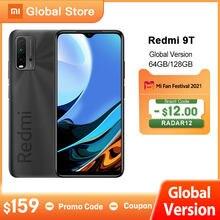 Мировая премьера глобальная версия смартфона Xiaomi Redmi 9T 4 Гб 64 ГБ/4 Гб 128 ГБ/6 ГБ 128 ГБ Snapdragon 662 48MP камера заднего вида 6000 мАч