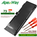 ApexWay 10 95 V 73WH A1321 запасная батарея для Apple MacBook Pro 15