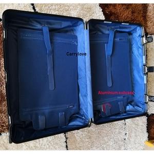 """Image 2 - CARRYLOVE 20 """"24"""" 26 """"29 pollici spinner di alluminio di viaggio valigia di lusso di marca trolley cabina bagagli su ruote"""