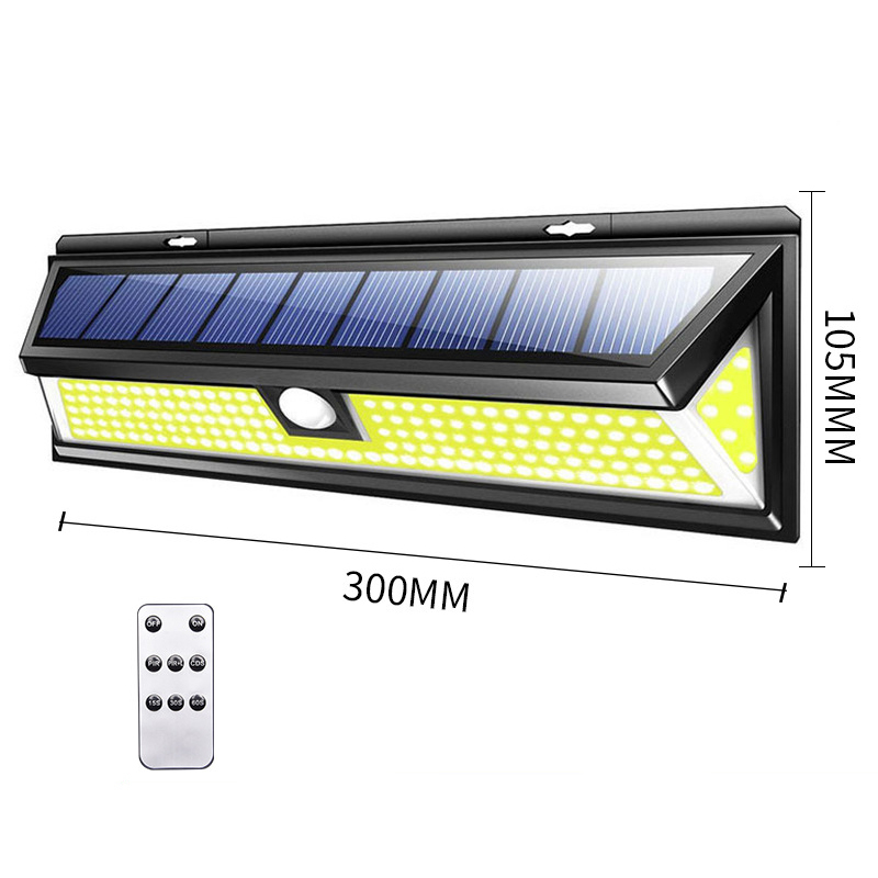ao ar livre 3 modos solar lâmpada