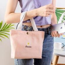 Холщовая женская сумка для покупок хлопковая тканевая Экологически