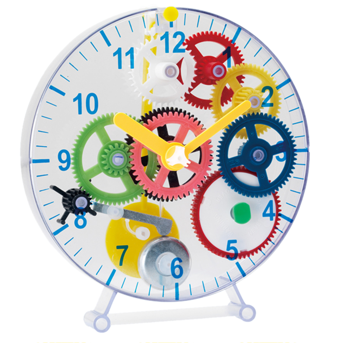 Children Puzzle Clock Kit DIY Gear Mechanical Clock Educational Assembling Gear Clock Toy Learning & Education Science Toy