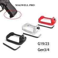 Magorui glock pro magwell mag well для 19 23 32 38 gen 3 / 4