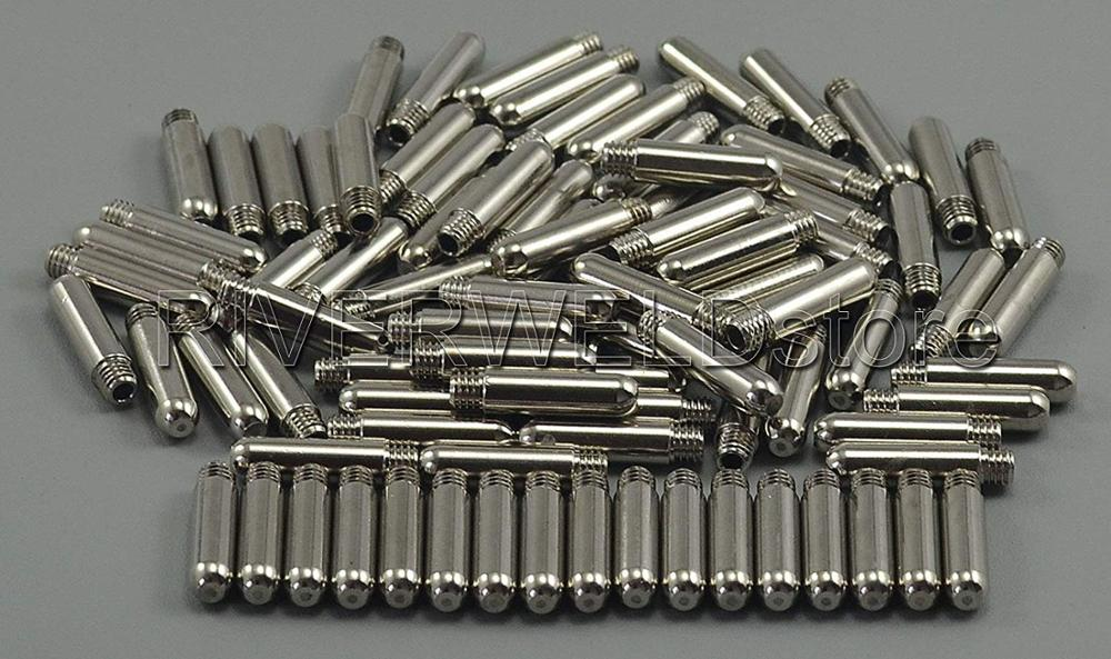 AG60 SG55 Cutter Cutting Plasma 100pcs Consumable Tip Kit Plasma Plasma AG Torch 60A Torch Electrode 60