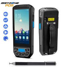 ISSYZONEPOS 2D QR Barcode Scanner NFC WIFI PDA Android 7.0 5 Inch Wireless Portable Bar Code Rearder Handheld POS Terminal