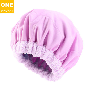 Amazon Sold Double Superfine Fiber Dry Hair Marcel Nursing Female Suction Cap Quick-drying Towel Dry Hair Towel image