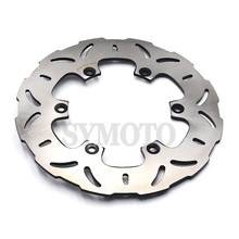 267mm Motorcycle Rear Brake Disc Rotor For Yamaha MT 01 1670cc MT01 2005 2010 T Max 500 XP500 2001 2011 XJ900 S Diversion 95 03