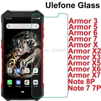 Перейти на Алиэкспресс и купить Ulefone Armor 3 3T 3W 3WT 5 5S 6 6E 6S 7E X X2 X3 X5 X6 X7 Pro Защитное стекло для экрана Переднее стекло для Ulefone Note 7 7 P 8P стекло