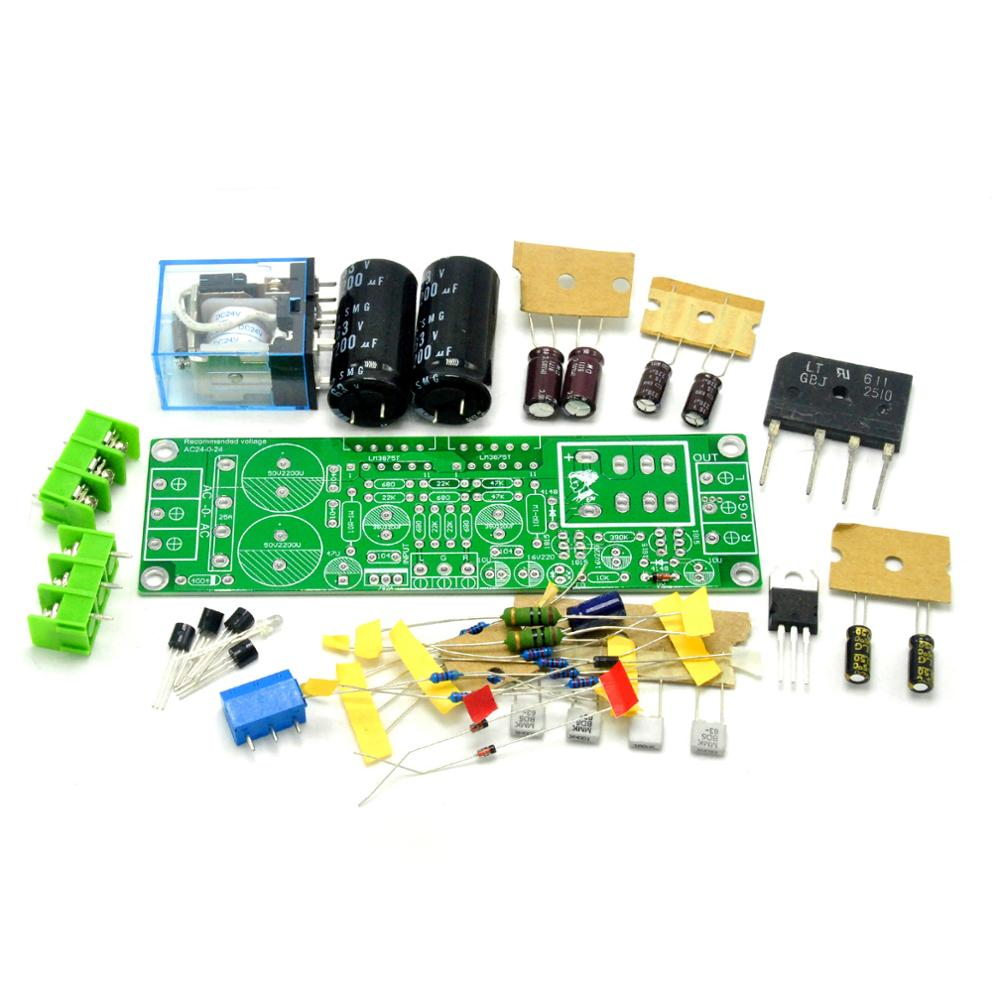 GAINCLONE LM3875 50W+50W 8R Amplifier Kit DIY Two-channel Speaker Protective Circuit