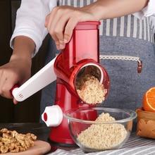 VOGVIGO Vegetable Cutter Round Mandoline Slicer  Potato Carrot Grater with 3 Stainless Steel Chopper Blades Kitchen Tool