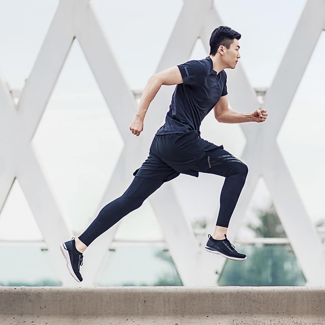 Xiaomi 90 очков ультра легкие кроссовки вязаная обувь носить легкие мягкие стельки вразлёт, плетение дышащая Спортивная обувь для фитнеса смарт - 6