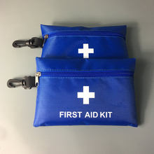 12 Items/35 pcs Emergency Survival Kit Mini First Aid bags Sport Travel medical kits Home Small Medical Storage Bag