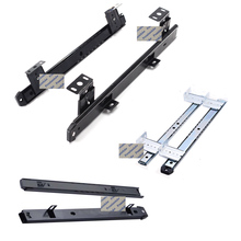 1Pair Ball Bearing Pull Out Slide For Plastic Wooden Keyboard Tray Hanging Suspension Bracket Side Mounting PC Desk